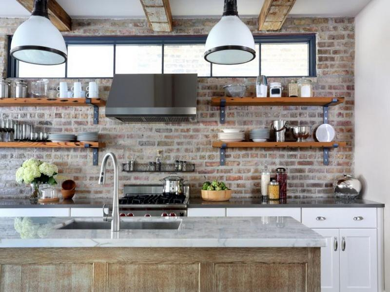 kitchen inspiration with open shelves sliding door design | Open Shelving (should I or shouldn't I?) | DesignEric