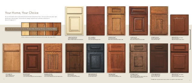 advantage cabinet comes in 14 different door styles 5 different