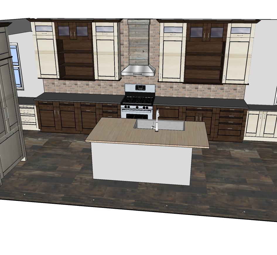 Cabinets designeric for Sketchup design